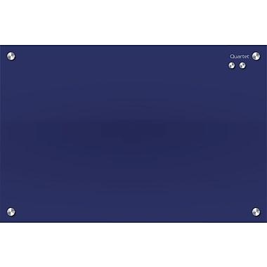 Quartet® - Tableaux magnétiques en verre Infinity, bleu