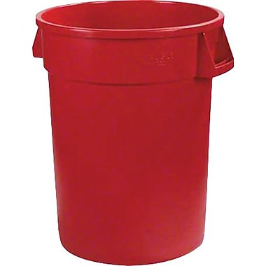 Carlisle Bronco 32 gal. Polyethylene Trash Can without Lid