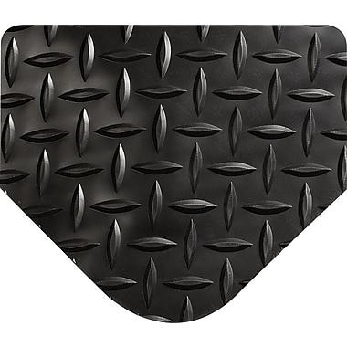 Wearwell Anti-Fatigue Matting Diamond-Plate SpongeCotes, 9/16