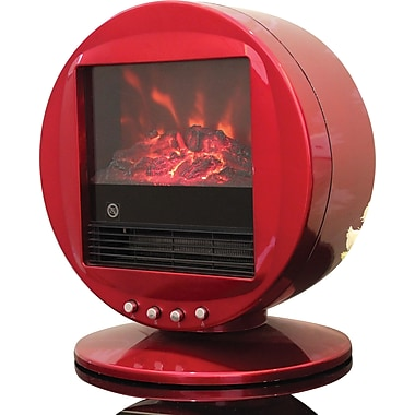 Himalayan Heat 1500W Electric Fireplace Heaters, Assorted Colors