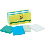 Post-it® Super Sticky Recycled Bora Bora Collection