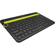 Logitech K480 Bluetooth Multi-Device Keyboard, Black