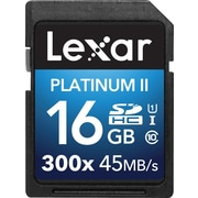 Lexar™ Platinum II 300x SDHC™ UHS-I Cards, Class 10