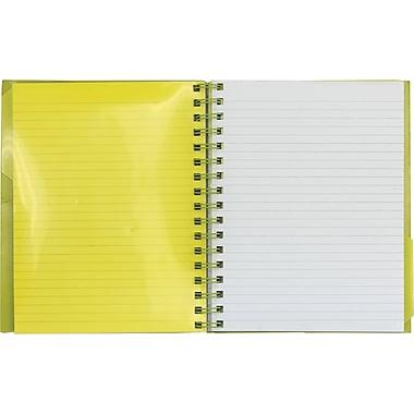 Five Star® - Cahier de notes à 1 sujet de qualité supérieure, 11 po x 8 1/2 po, 200 pages