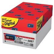 "Appleton NCR Superior 8 1/2"" X 11"" Bond Carbonless Paper, Canary/White, 2500/Case"