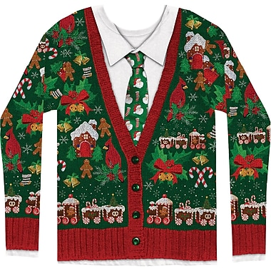 Men's Ugly Xmas Cardigan S-XXL