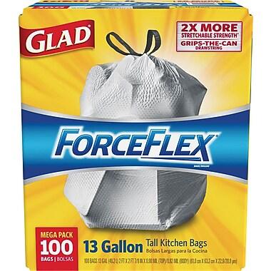 Glad® ForceFlex™ Stretchable Strength Drawstring Trash Bags