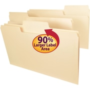 Smead® SuperTab® File Folder, Oversized 1/3-Cut Tab, Legal Size, 100/Box
