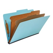 Staples® 100% Recycled Classification Folders, 2 Dividers, Legal Size, 20/Box