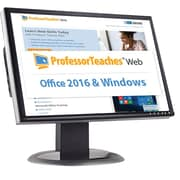 Individual Software Professor Teaches Web - Office 2016 & Windows 10