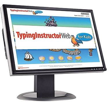 Individual Software Typing Instructor Web for Kids