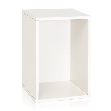 Way Basics Vertical Blox 22.4 inch Eco Friendly Storage and Stackable Shelving