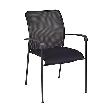 Regency Mario Stack Chair, Black