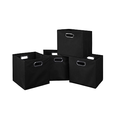 Niche Cubo Foldable Fabric Storage Bins, 4/Pack