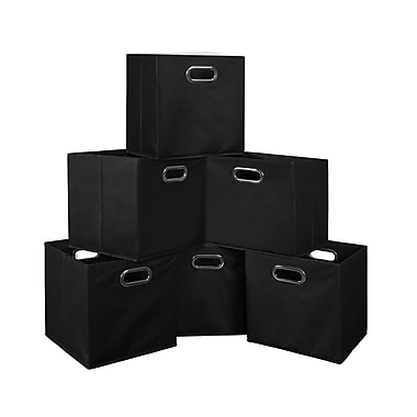 Niche Cubo Foldable Fabric Storage Bins, 6/Pack