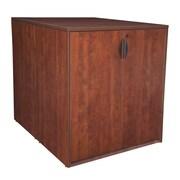 Regency ? Bureau debout Legacy dos à dos avec armoire de rangement et bureau