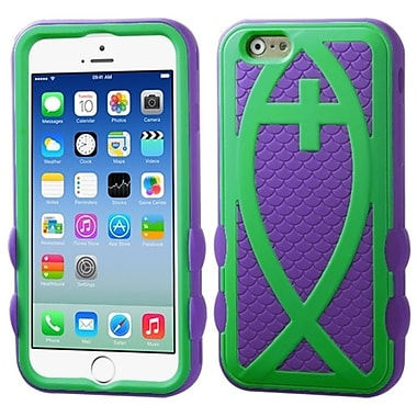 Insten Hard Hybrid Rugged Shockproof Rubber Coated Silicone Case For iPhone 6/6S 4.7