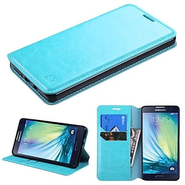 Insten Folio Leather Fabric Cover Case With Stand/Card Holder For Samsung Galaxy A7