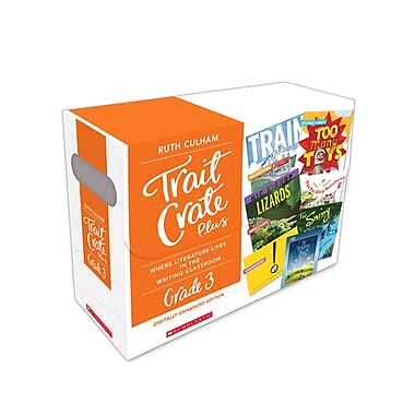 Scholastic Teaching Resources Scholastic Trait Crate Plus (SC-583771)