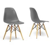 "Baxton Studio Azzo 18.2""W x 16.75""D Dining Chair"